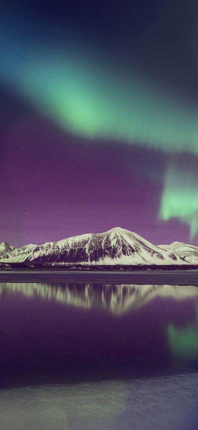 ml94-aurora-night-sky-red-bokeh-instagram-art-nature via iPhoneXpapers.com - Wal...