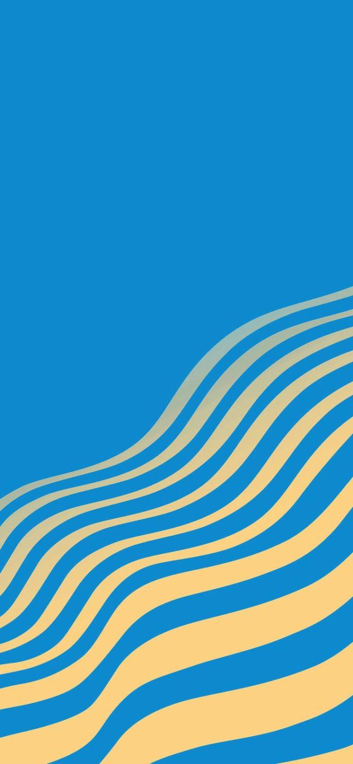 vu23-line-simple-minimal-curve-pattern-blue via iPhoneXpapers.com - Wallpapers f...