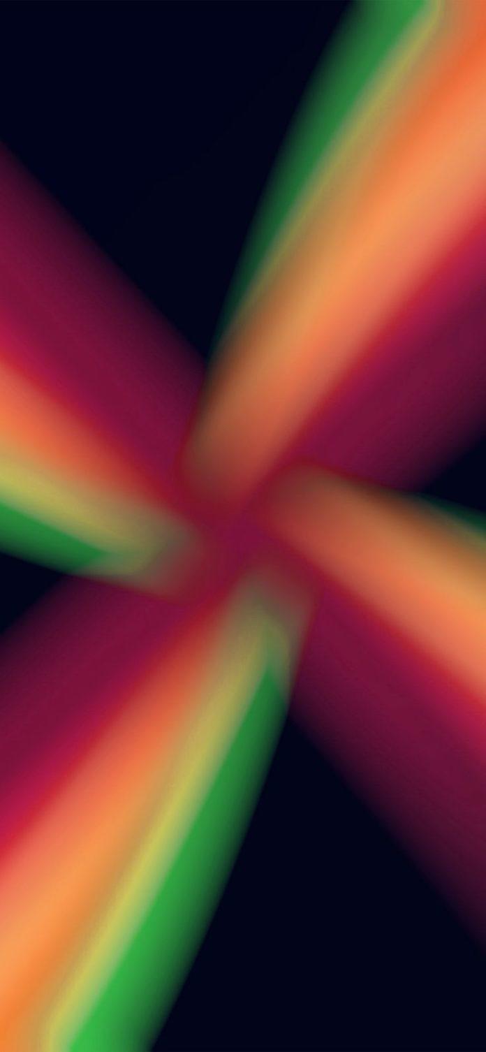 vu49-light-red-blue-dark-center-pattern via iPhoneXpapers.com - Wallpapers for i...