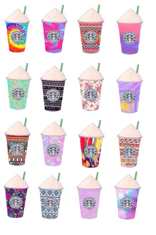 I went to Starbucks once, now I want to go again for all the patterns