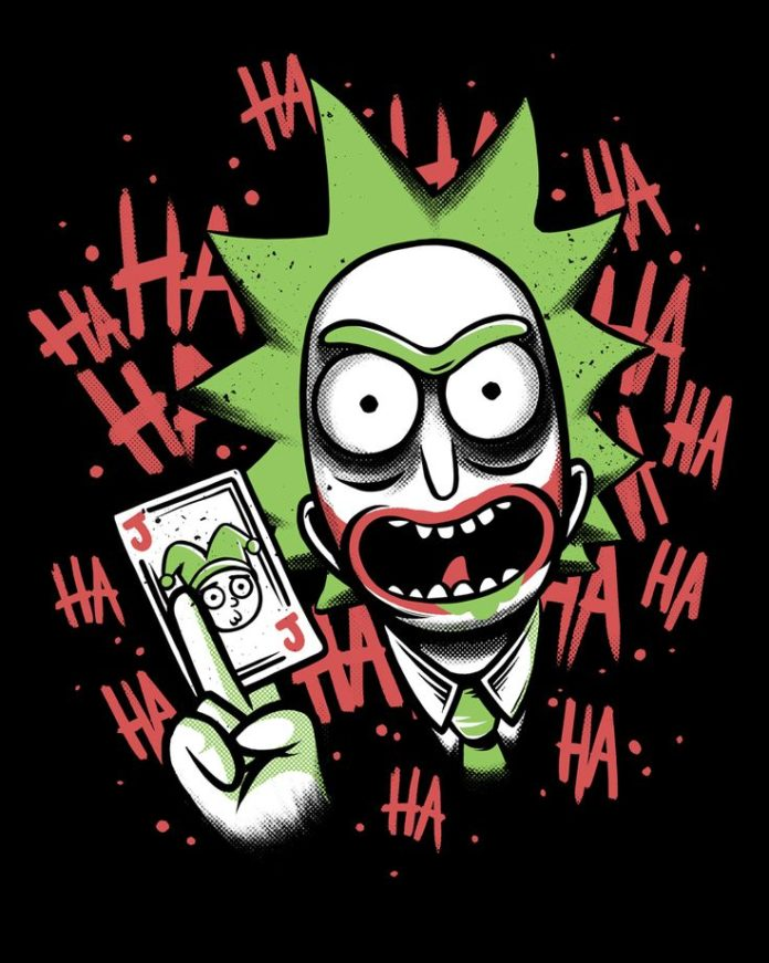 Camiseta Joker Rick - Masculina