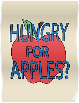 Hungry For Apples? - Jerry Smith from Rick and Morty Poster