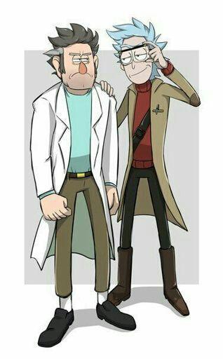 Maldita sea Rick se ve bien wenoooooo xdxd