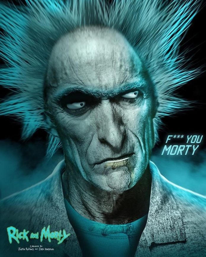 #Repost Kode Subject Clint Rick Eastwood Rick and Morty by rickandmorty