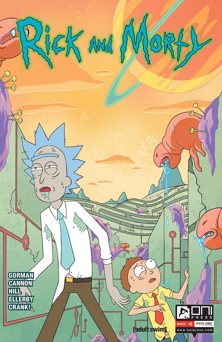 Rick and Morty Wallpaper iphone : Rick and Morty Issue #2 - Read