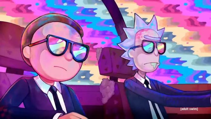 Rick and Morty are on fire in the latest music video by Run The Jewels!