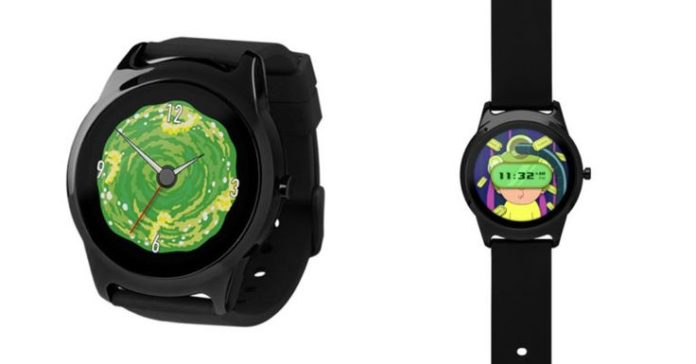 Rick and Morty smartwatch. #geek #tech #technology #blog #gadgets #games #gaming...