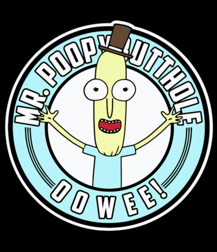 Rick and Morty x Mr. Poopybutthole