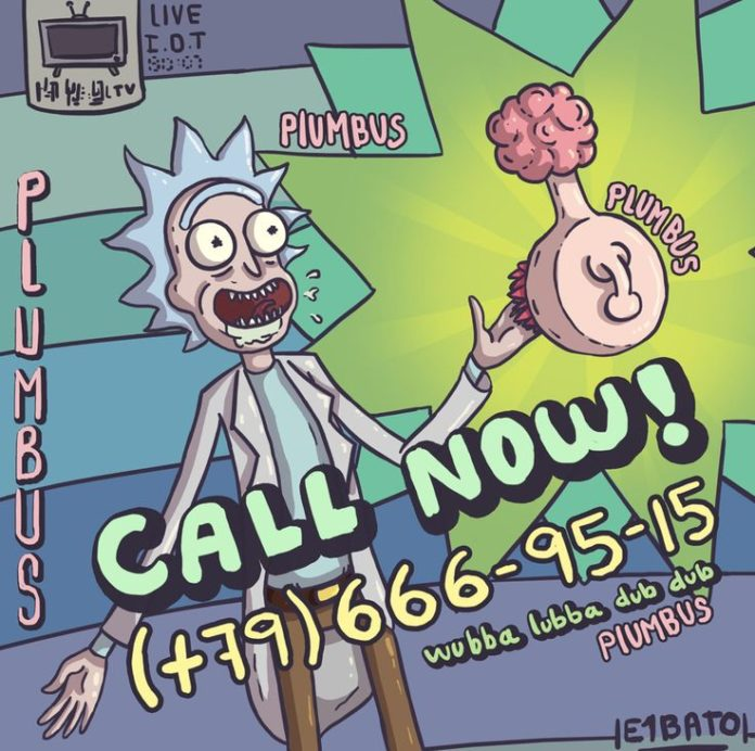 Rick and Morty x Plumbus