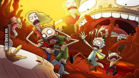 This Rick and Morty fan art