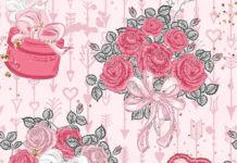 Wallpaper pink flower