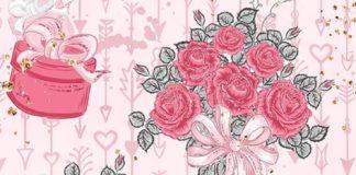 Wallpaper pink flower
