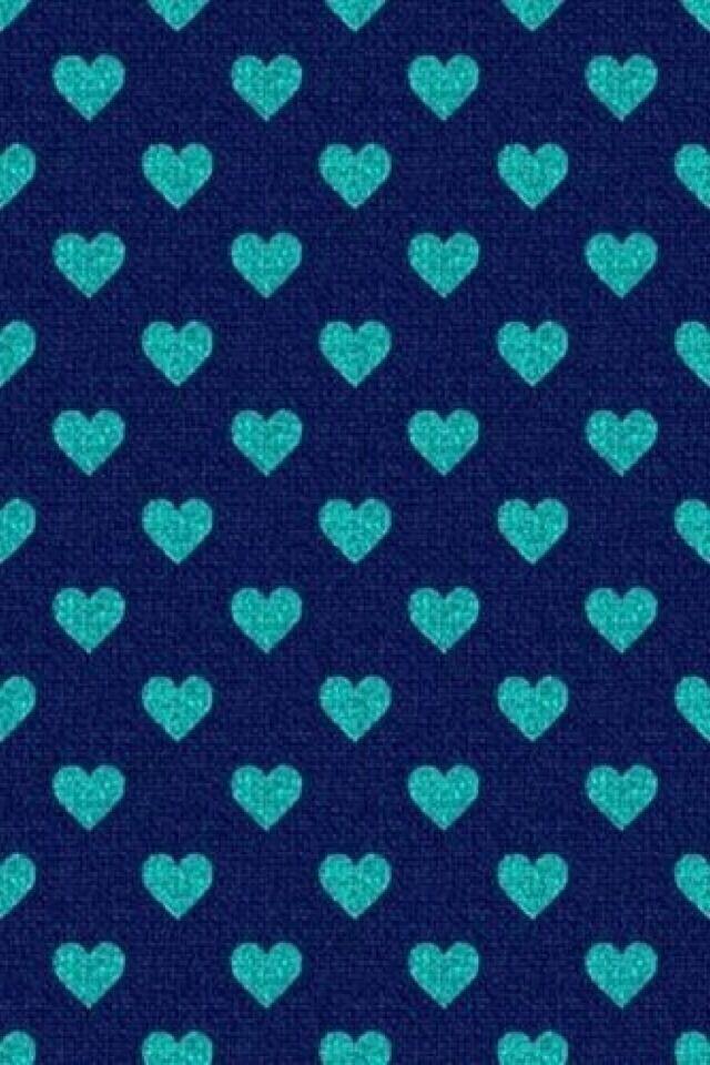 iPhone Wallpaper-Hearts