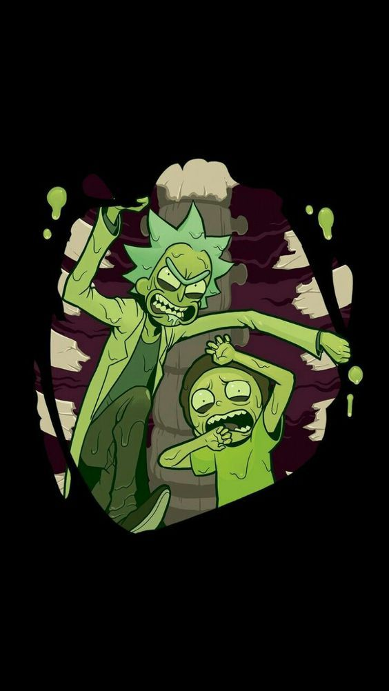 Papel de parede para celular de Rick and Morty