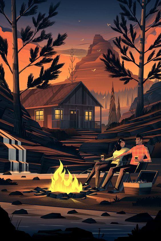 Amazing Art Inspiration - Campers  #design #art #designinspiration #contemporary...
