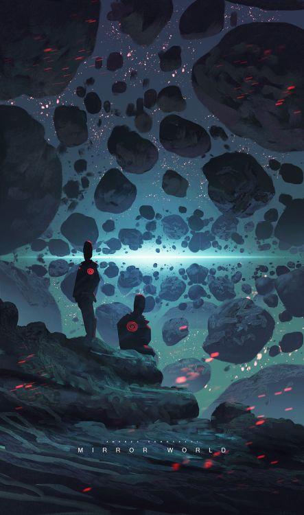Mirror World by Andi Koroveshi concept art