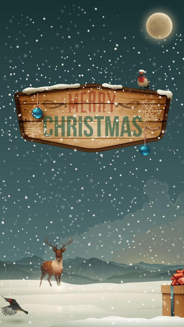 Iphone wallpapers games apps ringtones themes: Merry Christmas and Happy new yea...
