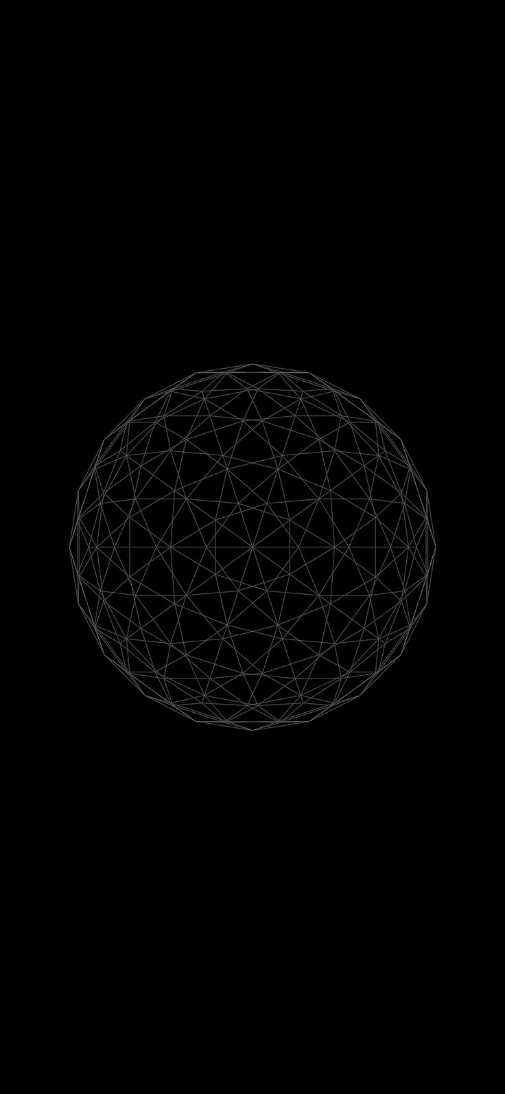 Iphone X Wallpaper Ve32 Line Abstract Circle 3d Art Via