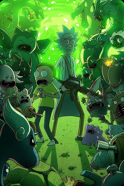 Rick And Morty Wallpaper Iphone 3 99 Rick And Morty