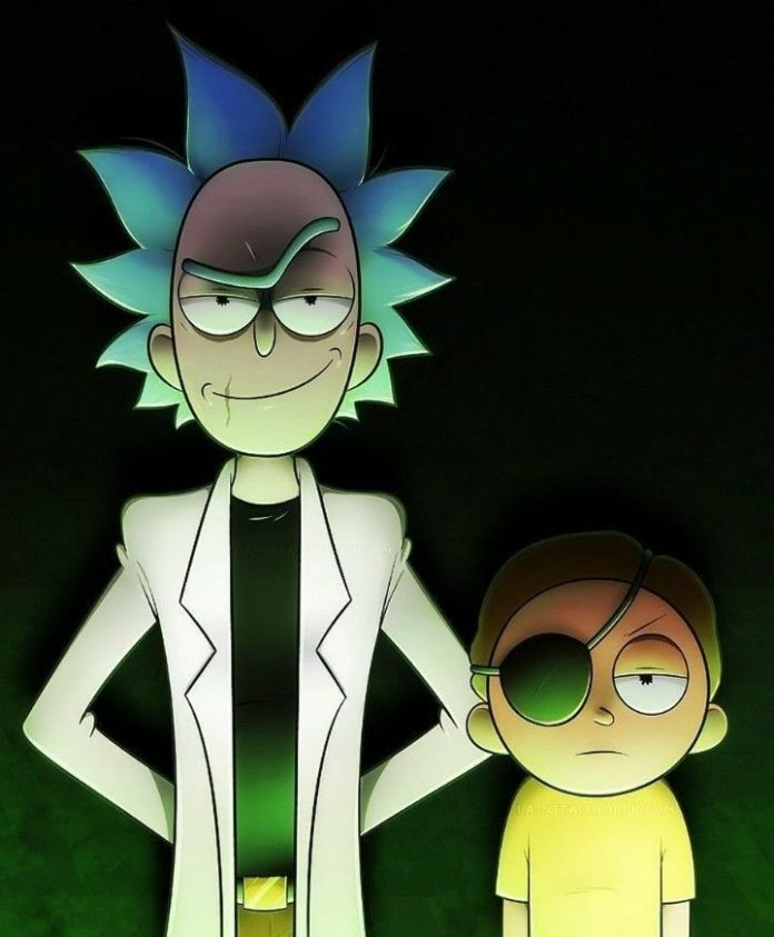Evi -l Rick and morty