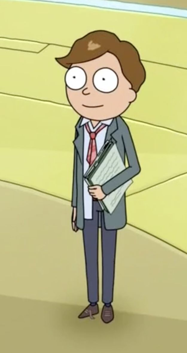 Lawyer Morty - Rick and Morty