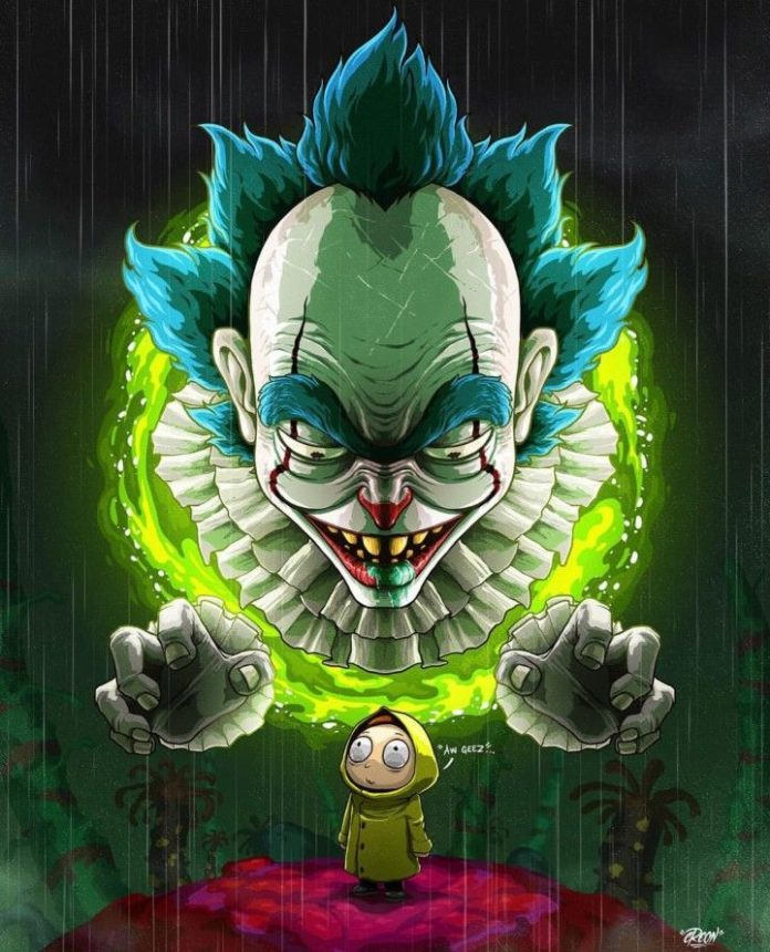 Rick & Morty Pennywise IT