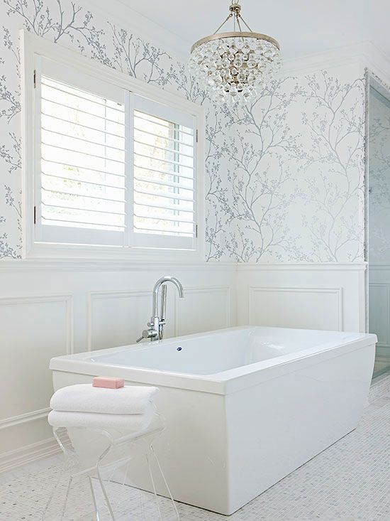 Get Wallpaper in Your Bath This Weekend