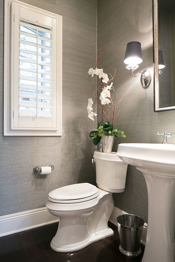 Interior Designer Cindi Borchard featured Glam Grass 5217 Geneva Grey in the pow...