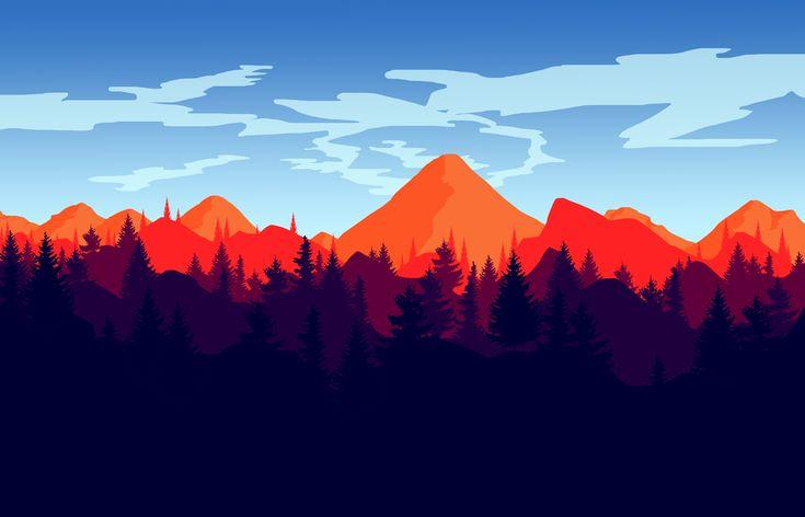 Firewatch Wallpaper : HD Desktop Background.