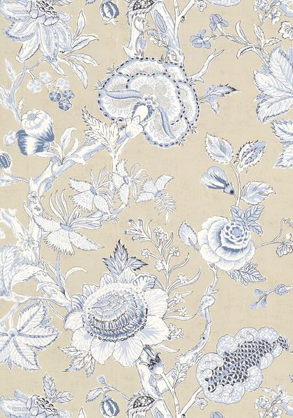 RITTENHOUSE, Blue and Tan, T4146, Collection Richmond from Thibaut