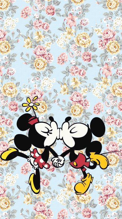 Mickey & Minnie wallpaper