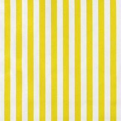 Yellow Stripes Oilcloth