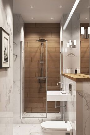 ▷ 1001 + designs impressionnants d'une petite salle de bain moderne