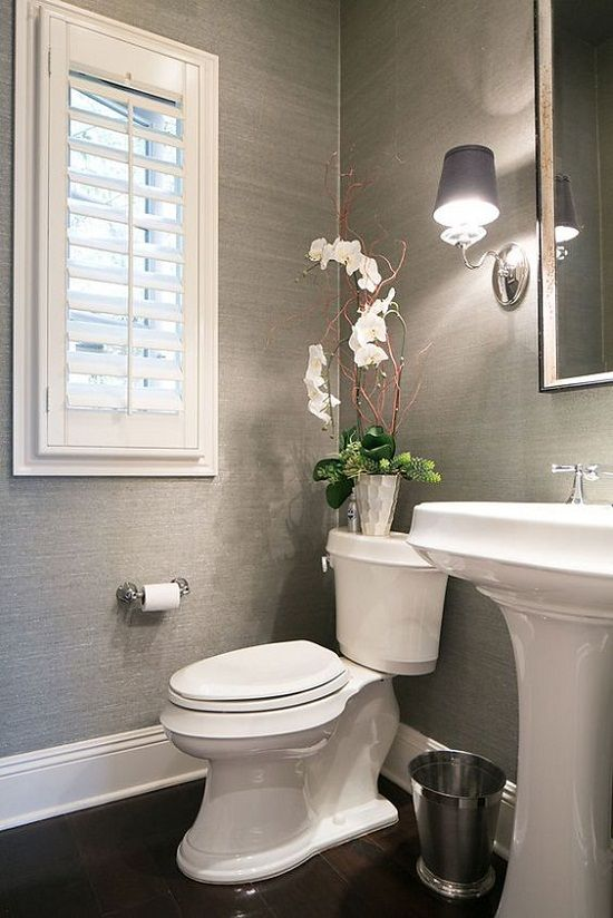 15 Elegant and Chic Bathroom Wallpaper Ideas | Home Decor Ways