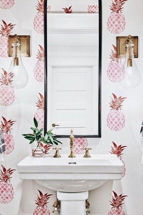 25 Edgy Bathroom Wall Decor Ideas