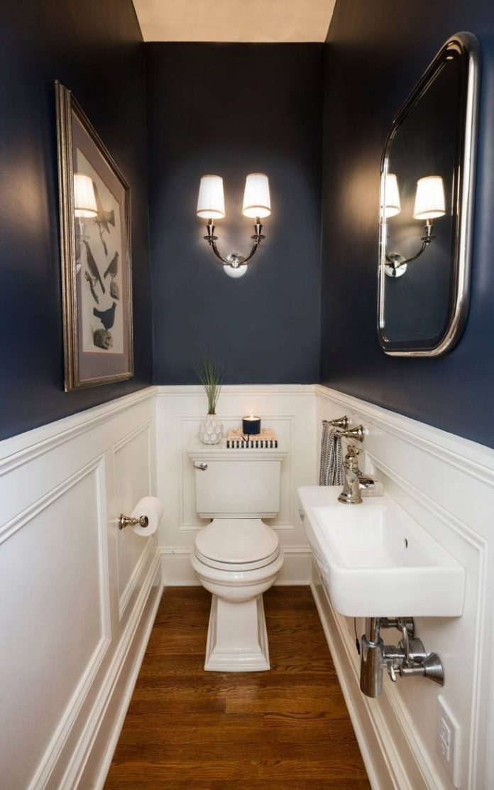 41 Cool Half Bathroom Ideas And Designs You Should See