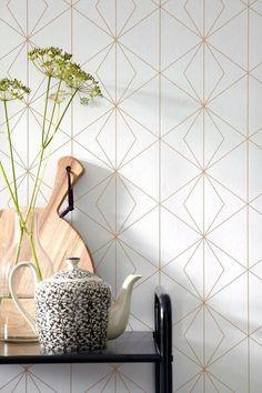 Modèle de papier peint merveilleux pour votre chambre. Les couleurs sont régla...