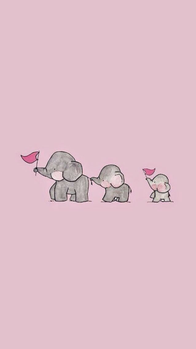 Cute Pink Wallpaper iPhone