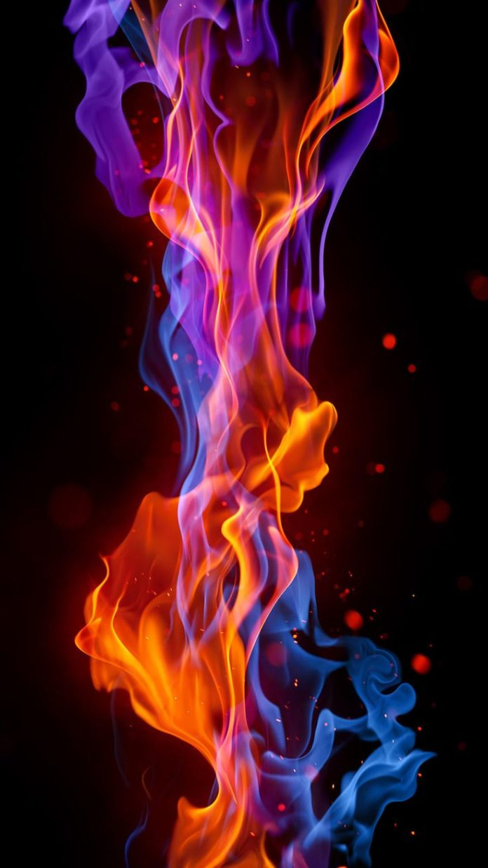 Fire iPhone Wallpaper HD