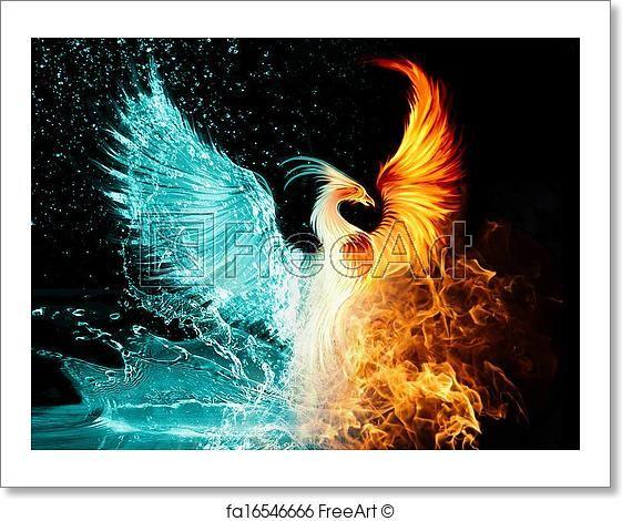 Free art print of Phoenix
