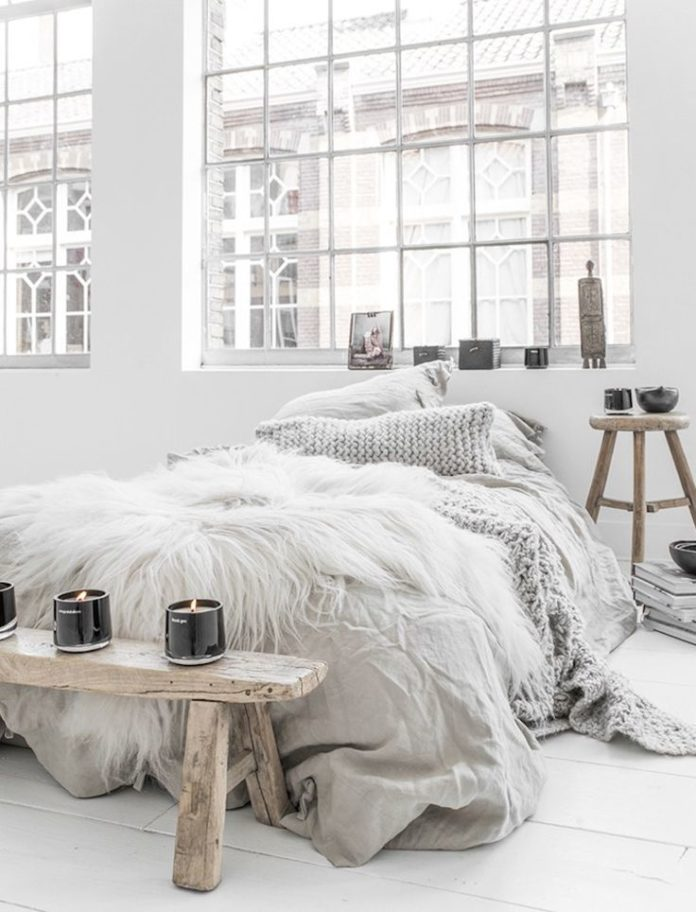 How to create a cozy and lovely interior in your bedroom space the Scandinavian ...