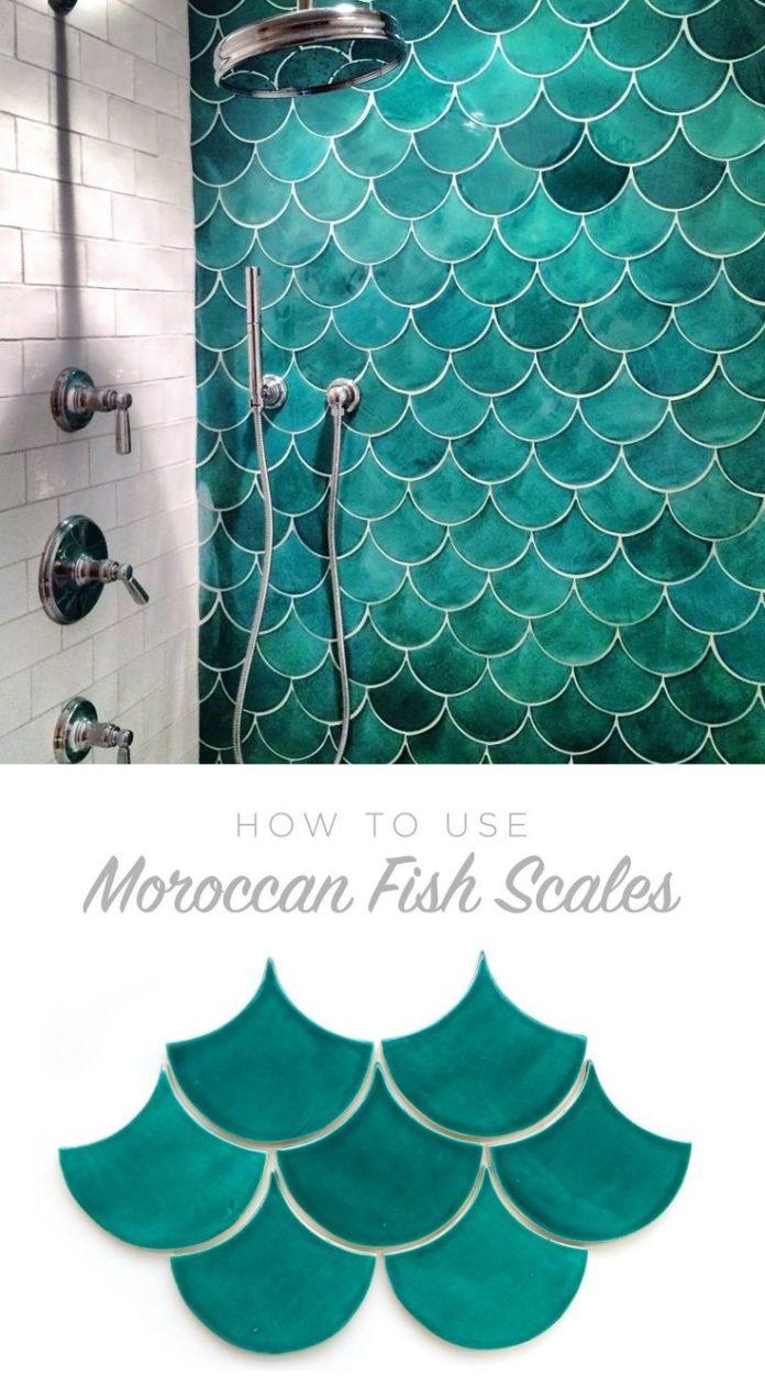 Mermaid scale wall!