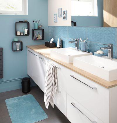 Peinture salle de bain : les couleurs tendance
