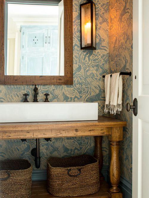 Bathroom Wallpapers Inspiration : Photos et idées déco de WC et ...