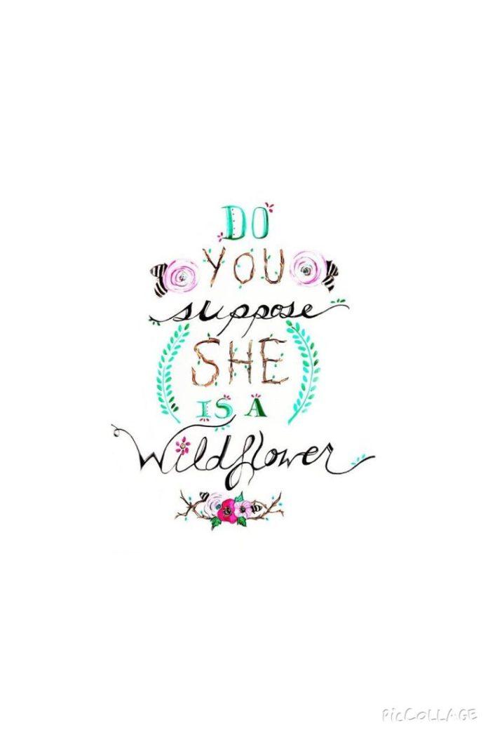 Alice in Wonderland quote iphone wallpaper
