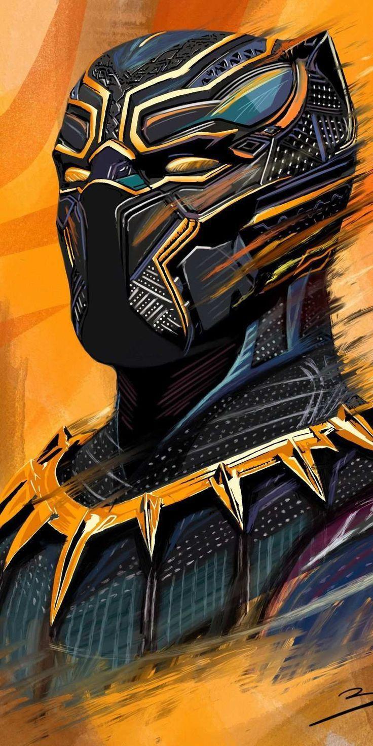 Iphone Wallpaper Black Panther Art Hd Iphone Wallpaper