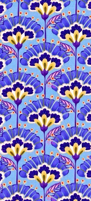 Fondo jjj - floral pattern #surfacedesign