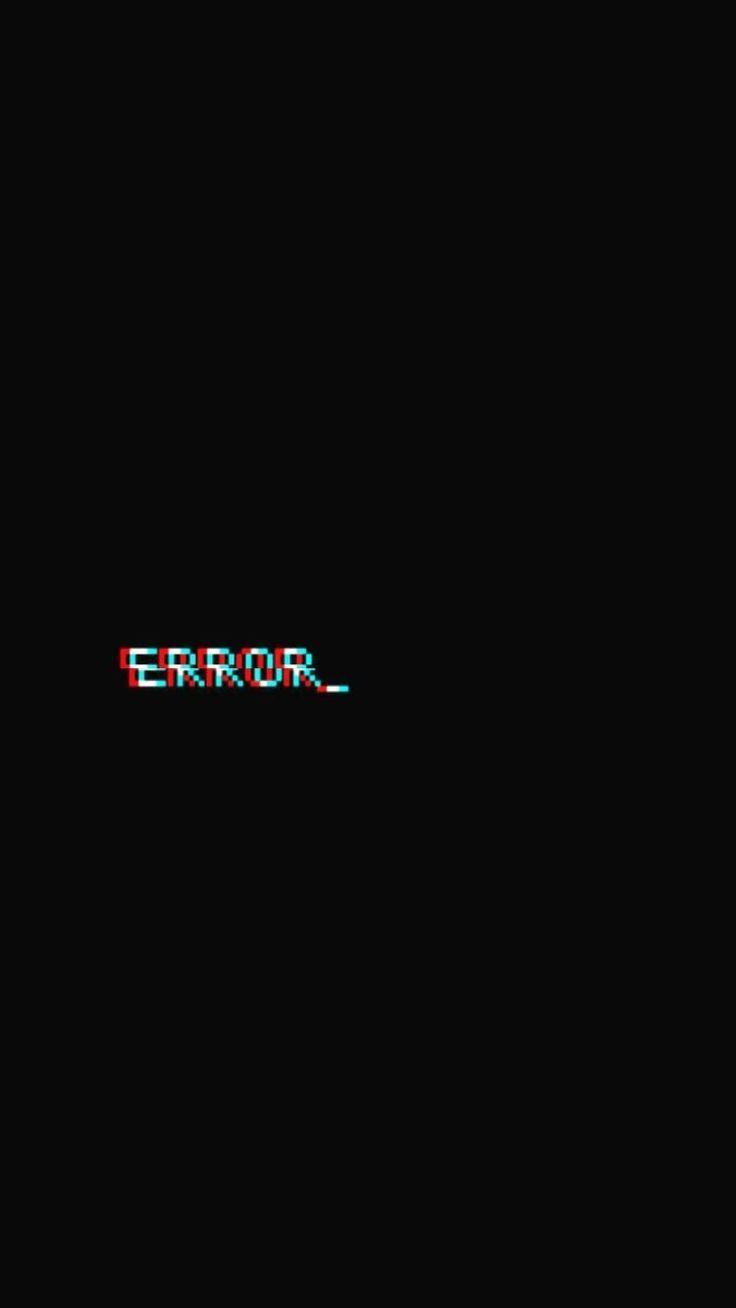 Iphone Wallpaper Glyn Fire Wallpaper Error Black