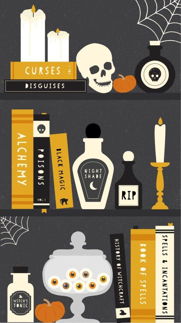 Halloween Iphone Wallpaper Cute Halloween Iphone Wallpaper (81+ Images)