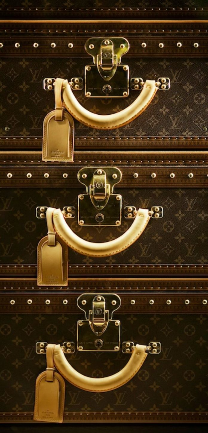LV Suitcase Stack